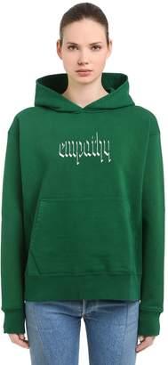 Blend of America Empathy Hooded Cotton Sweatshirt