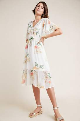 Anthropologie Farm Rio For Farm Rio Eloisa Floral Dress