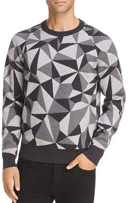 J Brand Quaezar Geometric Sweater