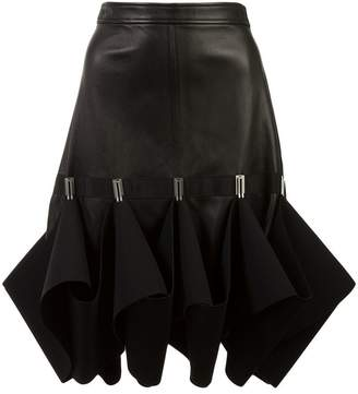 Dion Lee Hook ruffle detail skirt