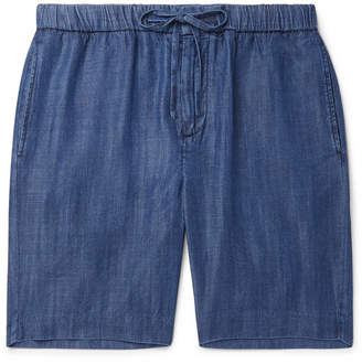 Frescobol Carioca Felipe Wide-Leg Tencel Drawstring Shorts