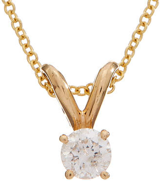 Effy Fine Jewelry 14K 0.16 Ct. Tw. Diamond Necklace