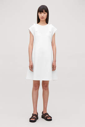 Cos KNOTTED DOUBLE LAYER DRESS