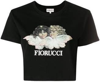 Fiorucci Angels cropped T-shirt