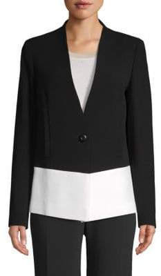 Escada Single-Button Blazer