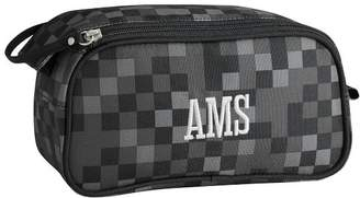 Pottery Barn Teen Getaway Black Pixel Toiletry Bag