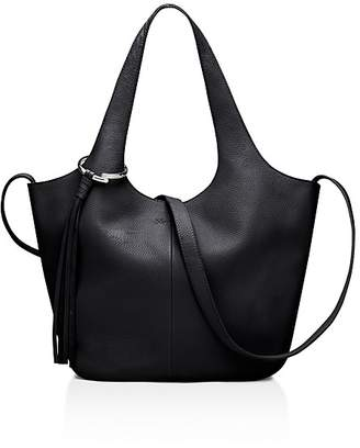 Elizabeth and James Finley Small Leather Tote $475 thestylecure.com