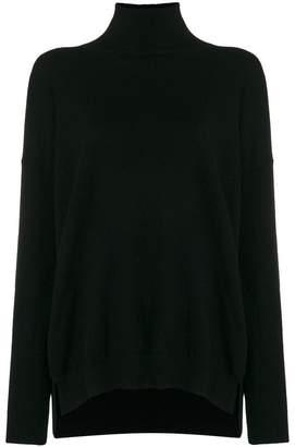 Agnona mock neck sweater