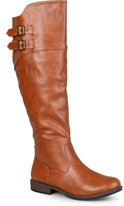 Women's Journee Collection Tori Over The Knee Boot -Cognac $100 thestylecure.com