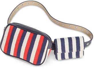 Steve Madden Nautical Double Belt Bag