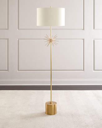 John-Richard Collection Quartz Starburst Floor Lamp