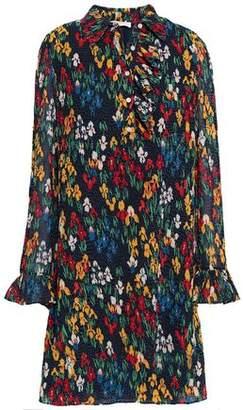 Tory Burch Printed Georgette Mini Dress