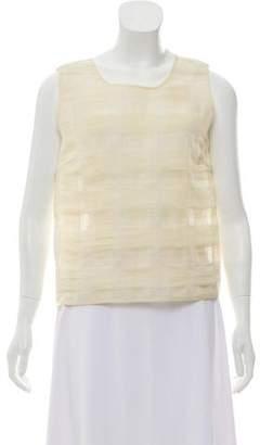 Rochas Sleeveless Silk Top