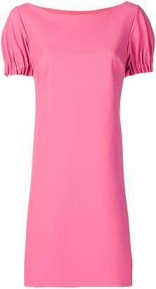 Chiara Boni ruched sleeves dress