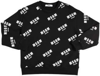 MSGM (エムエスジーエム) - MSGM コットンスウェットシャツ