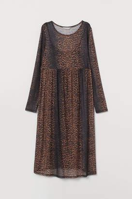 H&M MAMA Mesh dress