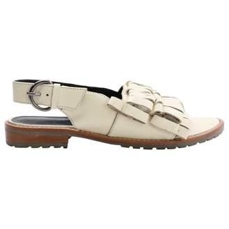 Tibi Leather sandal