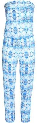 Heidi Klein Strapless Printed Voile Jumpsuit