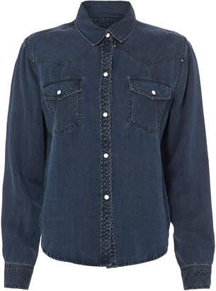 Rails Remi Western-Inspired Denim Shirt