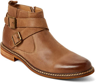 Steve Madden Camel Tipoff Buckle Anke Boots