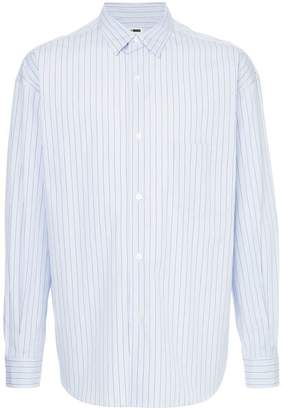 H Beauty&Youth striped long-sleeve shirt
