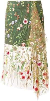 Marques Almeida Marques'almeida embroidered tulle skirt