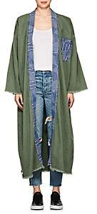NSF Women's Waverly Cotton Canvas Kimono - Camo