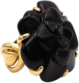 Chanel Camélia yellow gold ring