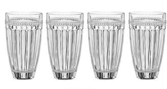 Lenox French Perle Four-Piece Highball Glass Set