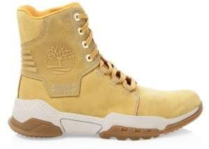Timberland Men's City Force Reveal Leather Boots - Wheat Nubuck - Size 7 M