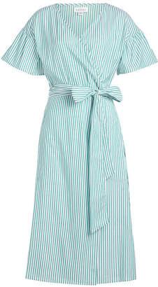 Velvet Jayel Striped Cotton Shirt Dress