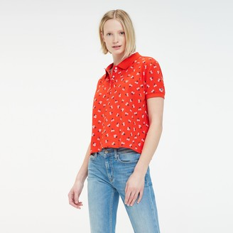 Tommy Hilfiger Printed Open Collar Polo