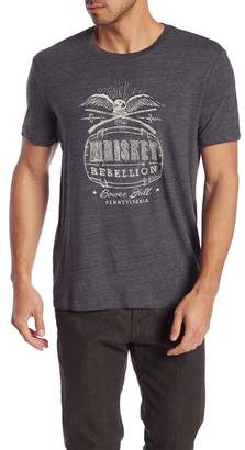 Lucky Brand Whiskey Rebellion Graphic Tee