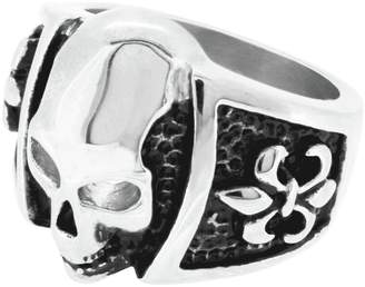 e504c2afd3710d Revere Men's Stainless Steel Skull Ring
