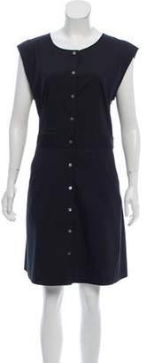 Theory Sleeveless Button-Up Dress