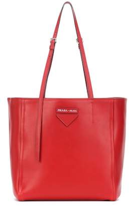 Prada Concept leather tote