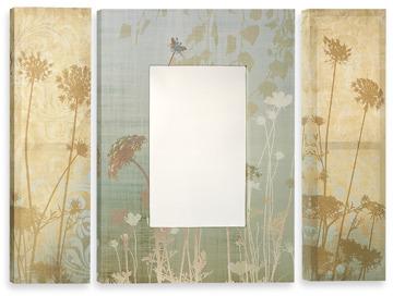 Bed Bath & Beyond Three-Piece Mirror Set - Lace