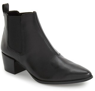Steve Madden 'Vanity' Pointy Toe Chelsea Boot $98.95 thestylecure.com