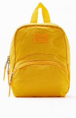 00c358963 Dickies Mustard Canvas Mini Backpack