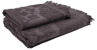 EIGHTMOOD Dark Grey Istanbul Towel Fringe
