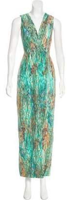 Misha Nonoo Silk Printed Dress