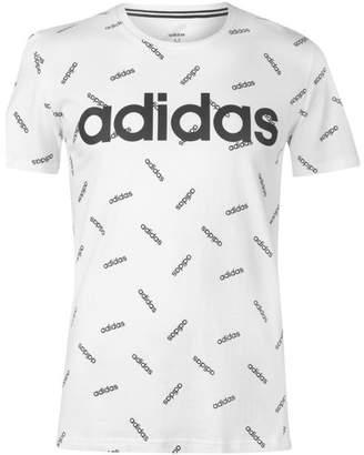 Linea All Over Print T Shirt Mens