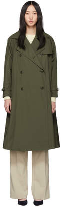 Max Mara Khaki Albano Over Coat