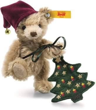 Steiff Nic Teddy with Christmas Tree (11cm)