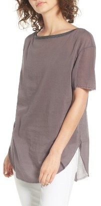 Women's Treasure & Bond Relaxed Woven Tee $59 thestylecure.com