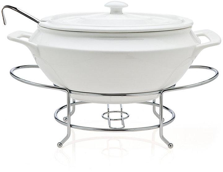 Godinger Serveware, Cucina Soup Tureen with Ladle