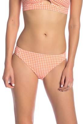 Nanette Lepore Capri Gingham Chamer Bikini Bottom