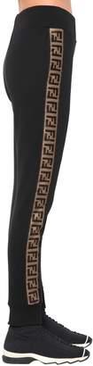 Fendi Logo Cotton Sweatpants