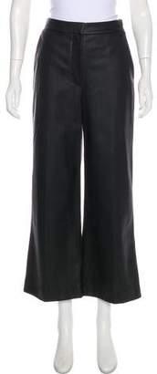 Rebecca Taylor High-Rise Wide-Leg Culottes