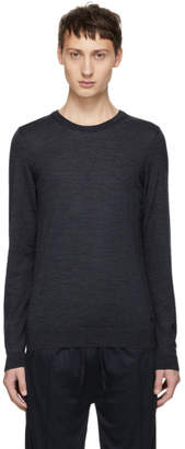 BOSS Blue Leno-P Crewneck Sweater
